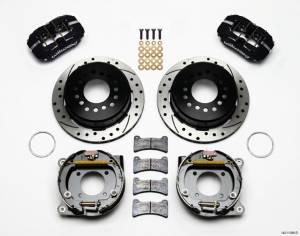 WILWOOD #140-11398-D Rear Disc Brake Kit 12- Bolt Chevy w/Parking Brk