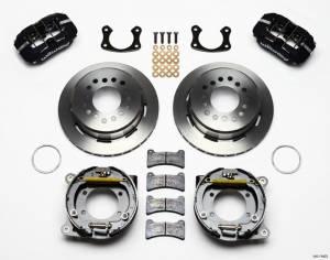 WILWOOD #140-11403 Rear Disc Brake Kit Sml. Ford w/Parking Brake