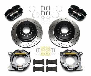 WILWOOD #140-11827-D Rear Brake Kit GM w/Park Drilled