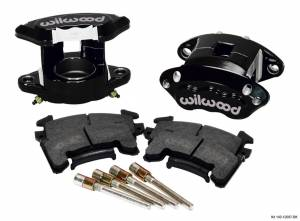 WILWOOD #140-12097-BK Front Caliper Kit D154/ Metric GM Blk Powdercoated