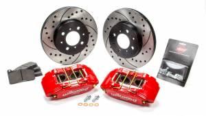 WILWOOD #140-12996-DR Brake Kit Front Honda/Acura Red Drilled