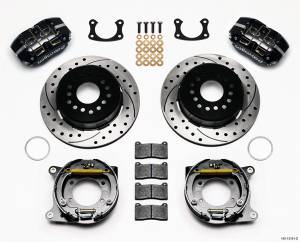 WILWOOD #140-13181-D P/S Rear Brake Kit New Big Ford Drilled 2.5in