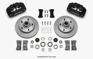 WILWOOD #140-14190 Brake Kit Front Ford 48- 56 F100