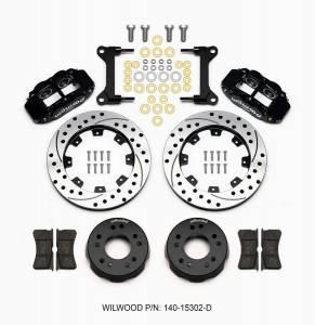 WILWOOD #140-15302-D Front Disc Brake Kit C10 Pro Spindle 12.19in