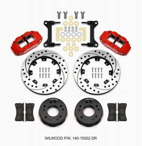 WILWOOD #140-15302-DR Front Disc Brake Kit C10 Pro Spindle 12.19in