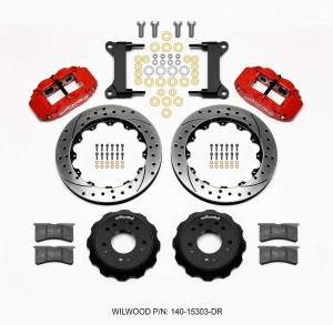 WILWOOD #140-15303-DR Front Disc Brake Kit C10 Pro Spindle 13.06in
