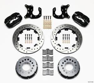 WILWOOD #140-2115-BD P/S Rear Disc Kit Big Ford 2.36