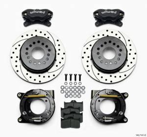 WILWOOD #140-7141-D Rear Disc Brake Kit w/Park Brake Chevy