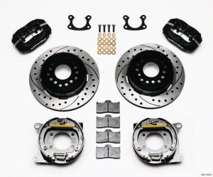 WILWOOD #140-7143-D P/S Park Brake Kit Small Ford 2.66in