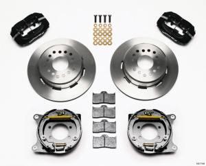 WILWOOD #140-7146 Disc Brake Kit w/PB 8.8 Ford 5 Lug