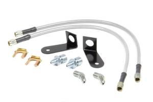 WILWOOD #220-9195 Flexline Kit Frt 70-73 Mustang