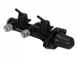 WILWOOD #260-14244-BK Tandem M/C Remote Mnt 1.125in Bore Black