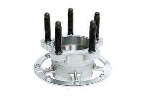 WINTERS #1750-9120 Steel 5x5 Rear Hub Bare Platinum