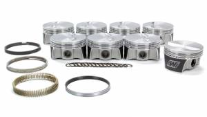 WISECO #K0003X3 SBC Flat Top Piston Set 4.030 Bore -5.7cc