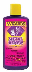 WIZARD PRODUCTS #11020 Metal Renew Polish 8oz.