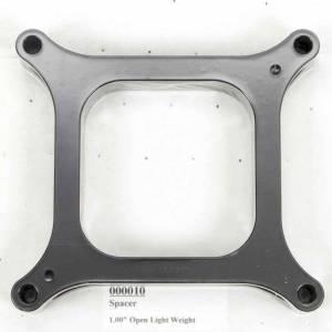WILSON MANIFOLDS #10 Carburetor Spacer - 4150 1in Open L/W