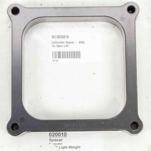 WILSON MANIFOLDS #20010 Carburetor Spacer - 4500 1in Open L/W