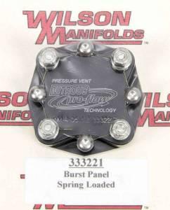 WILSON MANIFOLDS #333221 Manifold Pressure Relief Valve