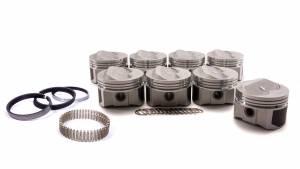 WISECO-PRO TRU #PTS502A6 SBC Domed Piston Set 4.060 Bore +8cc