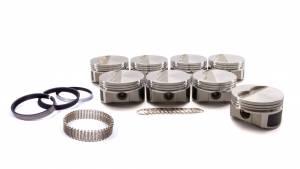 WISECO-PRO TRU #PTS505A6 SBC F/T Piston Set 4.060 Bore -5cc