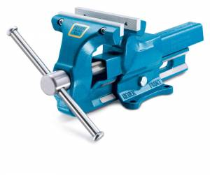 160Mm Bench Vise 6-1/4in With Replacable Jaws