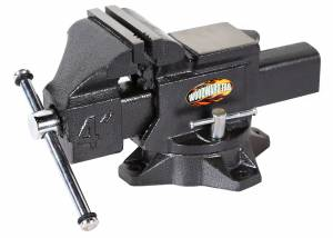 WOODWARD FAB #WFV4.0 4In Cast Iron Bench Vise