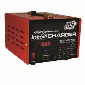 XS POWER BATTERY #1005E 12/16V Battery Charger Intellicharger Series