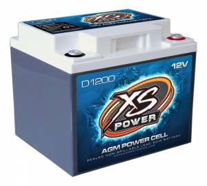 XS POWER BATTERY #D1200 XS Power AGM Battery 12 Volt 300A CA