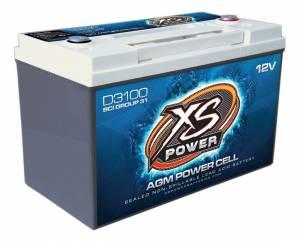 XS POWER BATTERY #D3100 XS Power AGM Battery 12 Volt 1000A CA