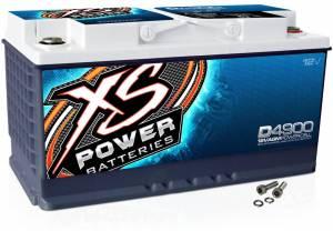 XS POWER BATTERY #D4900 XS Power AGM Battery 12 Volt 815A CA