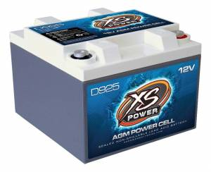 XS POWER BATTERY #D925 XS Power AGM Battery 12 Volt 200A CA