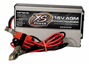 XS POWER BATTERY #HF1615 16v H/F AGM IntelliChrgr 15a