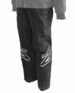 ZAMP #R01P003S Pant Single Layer Black Small