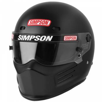 SIMPSON SAFETY #7210032 Helmet Super Bandit Large Black SA2020