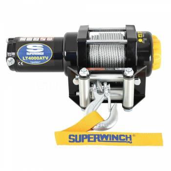 SUPERWINCH #1140220 LT4000 Winch 4000lbs Steel Rope