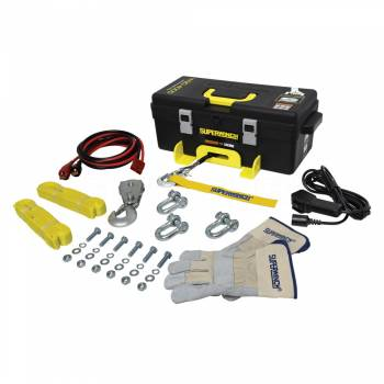 SUPERWINCH #1140232 Winch2Go 4000lb Winch Synthetic Rope