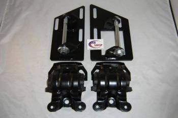CAR SHOP INC #2345-A2435 CSP2345-A2435 S10 S15 Blazer V8 2 Wheel Drive Swap Motor Mounts with Rubber Frame Mounts