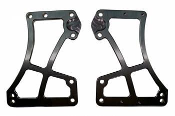 TRIPLE X RACE COMPONENTS #SC-EG-0009BLK Sprint Car Front Motor Plate Two Piece Black