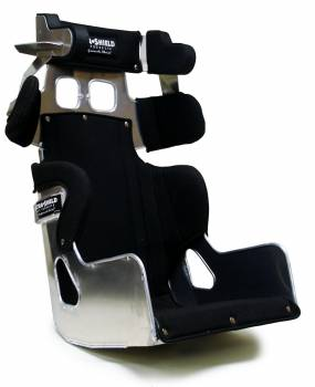 ULTRA SHIELD #FCLM820T Seat 18in FC1 LM 20 Deg 1in Taller w/Black Cover