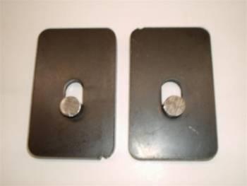 "CAR SHOP INC #2366 Axle Set Back Plates 1/2"""
