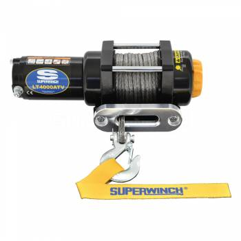 SUPERWINCH #1140230 LT4000SR Winch 4000lb Winch Synthetic Rope