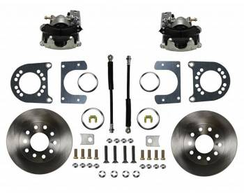 LEED BRAKES #RC1007 GM 55-68 Rear Disc Brake Kit Zinc Calipers
